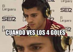 Enlace a Con Costa a este nivel, Morata lo va a tener muy chungo