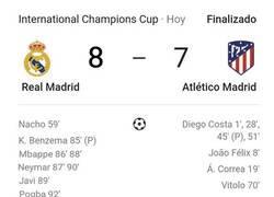 Enlace a Los nuevos fichajes del Real Madrid hacen posible la remontada contra el Atletico de Madrid