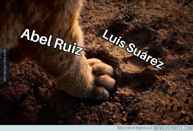 1082177 - A Abel Ruiz se le ven cosas de su compañero en el Barça