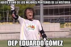 Enlace a Descanse en paz, Eduardo Gómez