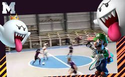 Enlace a Tremendo: un fantasma irrumpe en un partido de fútbol sala y le quita el balón a todas las jugadoras