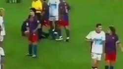 Enlace a El vídeo que resume a la perfección lo que es la nobleza en el fútbol: Don Carles Puyol