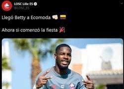 Enlace a ¿Por qué algunas cuentas en español de algunos equipos europeos están tan excitados con Betty?
