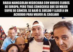 Enlace a #respect para Radja Nainggolan