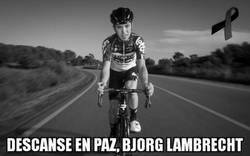 Enlace a El ciclismo está de luto