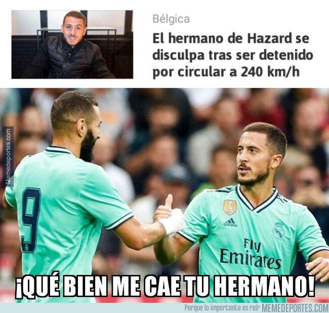 1082983 - Benzema haría buenas migas con Kylian Hazard
