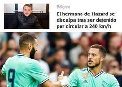 Enlace a Benzema haría buenas migas con Kylian Hazard