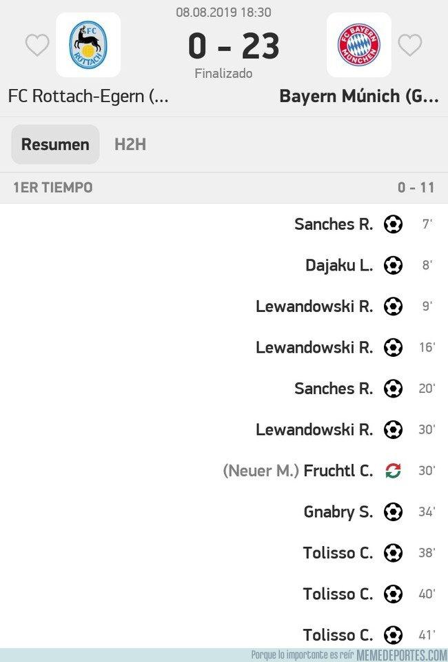 1083033 - El Bayern de Múnich le da una paliza al FC Rottach-Egern