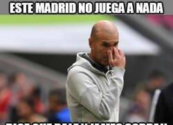 Enlace a Zidane es un poco temerario