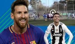 Enlace a La absoluta genialidad de este chaval marcando de una forma que nunca se les ha ocurrido a Cristiano o Messi