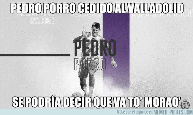 1083343 - Pedro Porro al Valladolid