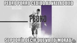 Enlace a Pedro Porro al Valladolid