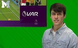 Enlace a Nacho Tellado enfurecido totalmente tras ver como se usa y tira las líneas el VAR de la Premier League