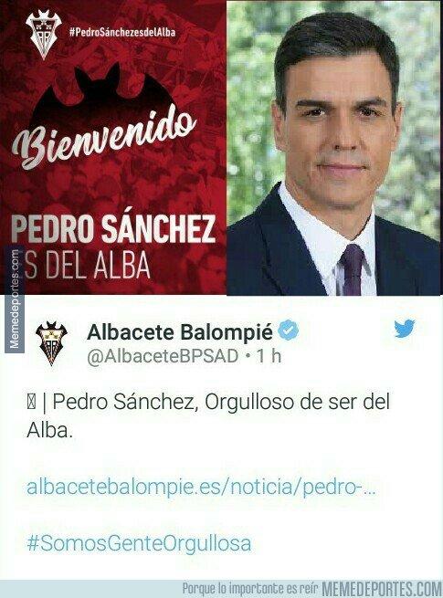 1084358 - Ya sabenos quién ascenderá a 1a división: el Albacete ha fichado al presidente