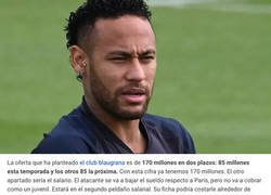 Enlace a La brutal cantidad de dinero que debería pagar el Barça para fichar a Neymar