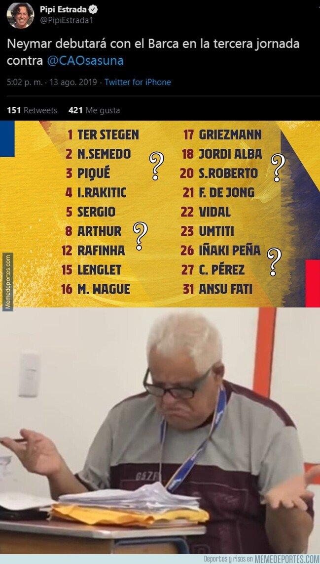 1084605 - ¿Dónde está Neymar?