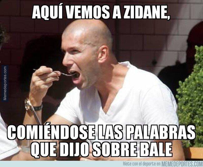1084726 - Zidane se come sus palabras sobre Bale