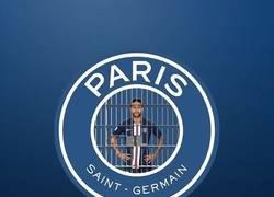 Enlace a El nuevo escudo del PSG. Por napsgraphicdesign