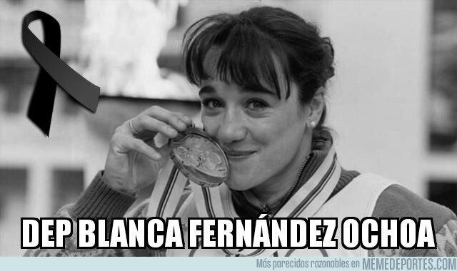 1084912 - Que descanse en paz Blanca Fernández Ochoa