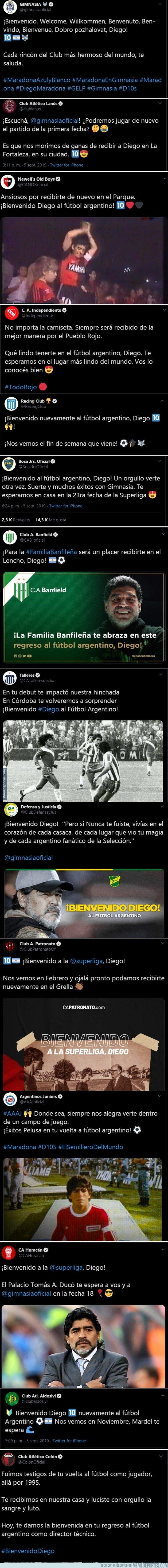 1085051 - Toda Argentina espera al Diego con los brazos abiertos