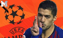 Enlace a El tremendo bajón de nivel de Luis Suárez en Champions League