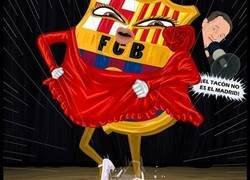 Enlace a El Barça destroza el Tacón, por @r4six