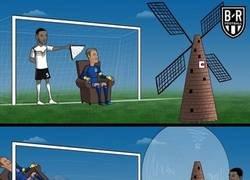 Enlace a El asentado Neuer no pudo con el molino holandés, por @brfootball