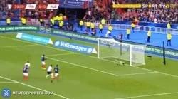 Enlace a Griezmann falló un penalti justo como lo hizo en la final de Champions