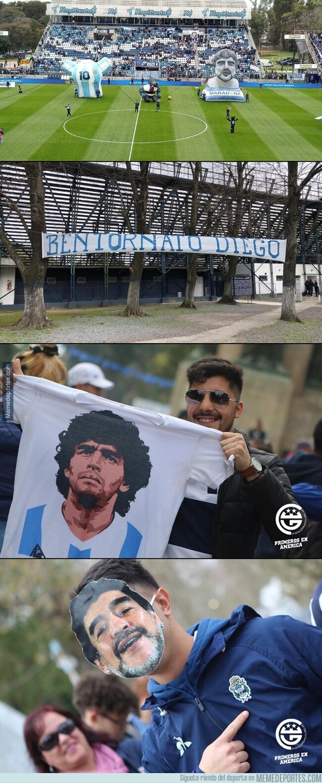 1085213 - Locura en La Plata por la presentación de Maradona