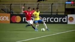 Enlace a Los sub-23 de Brasil y Chile en un 'amistoso' y se dieron hasta debajo de la lengua