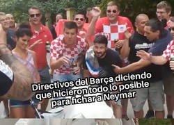 Enlace a Messi no se cree lo que le cuentan