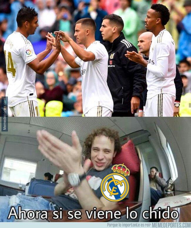 1085726 - Hazard debuta en Liga para la alegría del madridismo