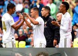 Enlace a Hazard debuta en Liga para la alegría del madridismo
