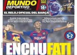 Enlace a Muy bien tirado el titular de Mundo Deportivo