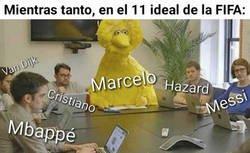 Enlace a Marcelo desentona un poco