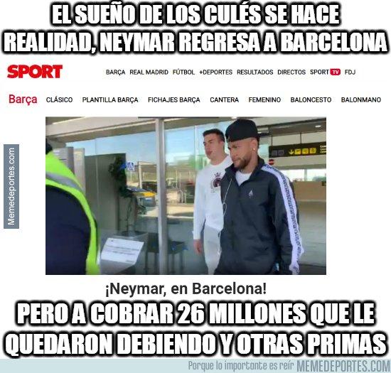 1086883 - Lo que todos los culés esperaban, el regreso de Neymar