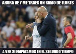 Enlace a Zidane tiene otra misión para Lucas Vazquez