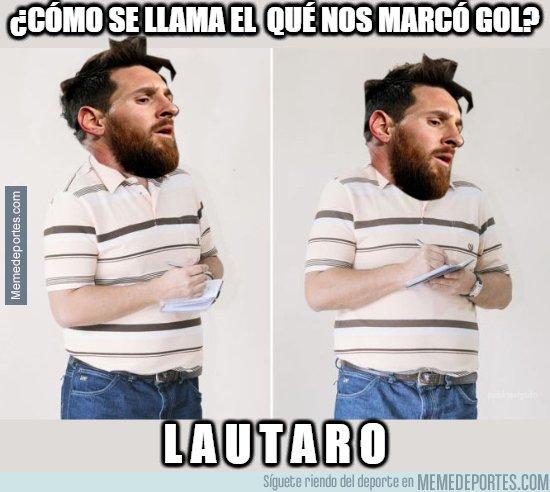 1087446 - Messi ya sabe a quien sacar del rondo en Argentina