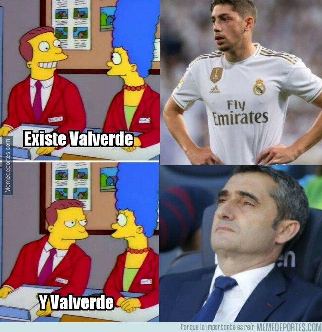 1087701 - Fede Valverde debe jugar siempre