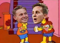 Enlace a Está claro qué hermano De Jong tiene el Barça y cuál el Sevilla...