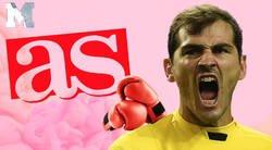 Enlace a El diario 'AS' hace una pregunta sobre Casillas y Keylor Navas y reciben un revés monumental de Iker por el que tienen que borrar el tuit
