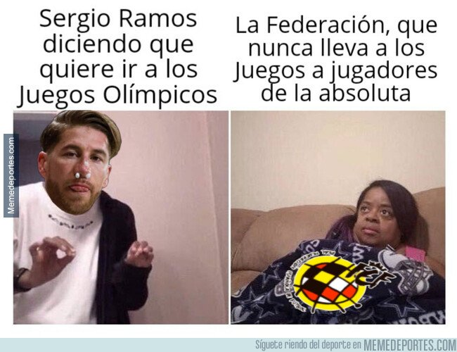 1088118 - A Ramos se le antoja ahora ir a los Juegos de Tokio