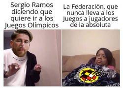 Enlace a A Ramos se le antoja ahora ir a los Juegos de Tokio
