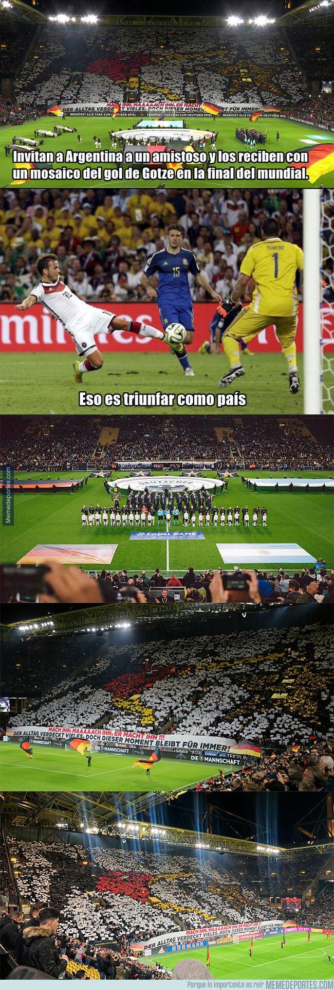 1088140 - La troleada monumental de Alemania en su amistoso con Argentina