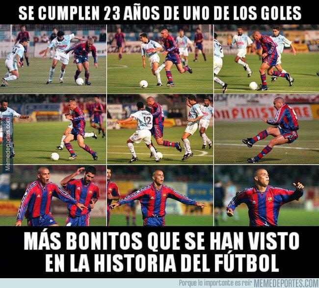 1088337 - 23 años cumple el regalo que Ronaldo nos hizo a los amantes del fútbol