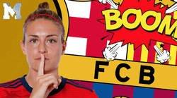 Enlace a Alexia Putellas, capitana del Barça, lanza un mensaje contra la sentencia del Procés, un usuario la replica y se lleva un ZASCA monumental