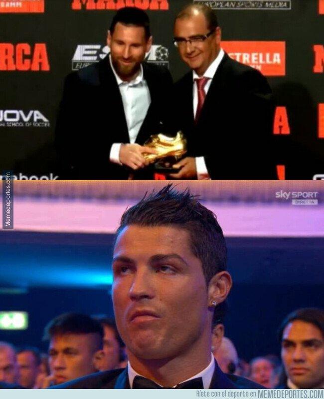 1088577 - Messi recibe su sexta bota de oro y ya tiene dos más que el Bicho