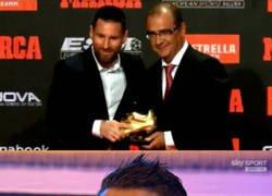 Enlace a Messi recibe su sexta bota de oro y ya tiene dos más que el Bicho