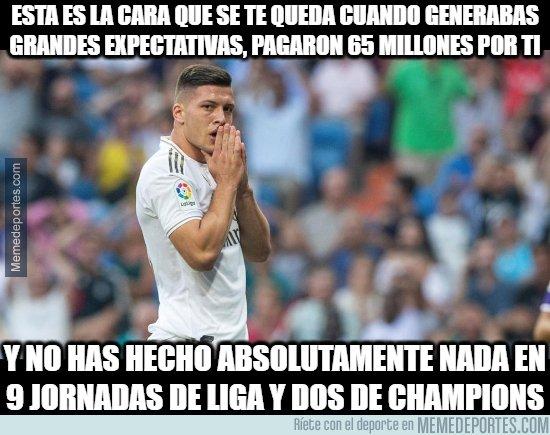 1088821 - ¿Jovic ya empezó a jugar para el Madrid?