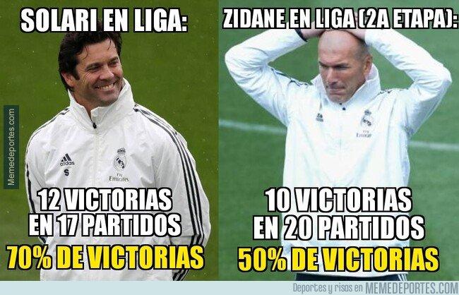 1088898 - Zidane no está mejorando a Solari